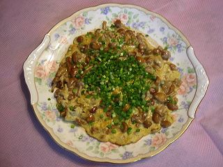 Wネバネバの薄焼き卵
